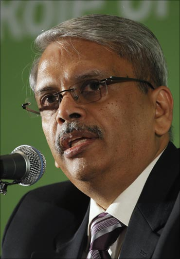 Infosys CEO and co-founder S Gopalakrishnan.