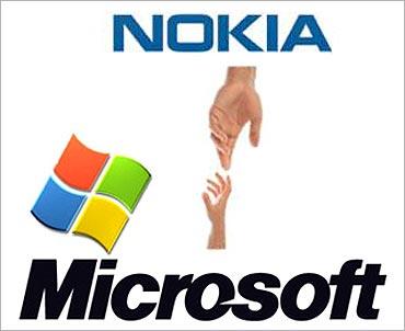 Nokia, Microsoft tie up.