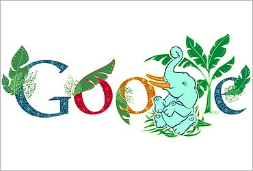 Doodle was started by Larry Page and Sergey Brin in 1998.