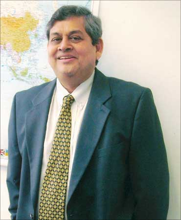 Tata Industries managing director Kishor A Chaukar.