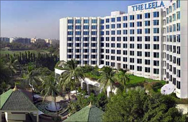 The Hotel Leela.