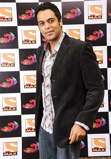 Sameer Kochhar, one of the anchors on Sony Max for the DLF IPL Season 4