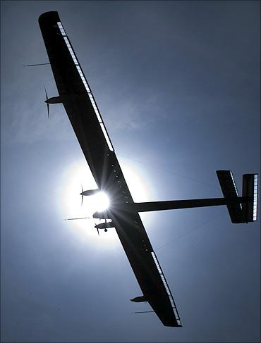 Solar Impulse HB-SIA.