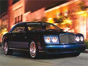 Bentley Azure.