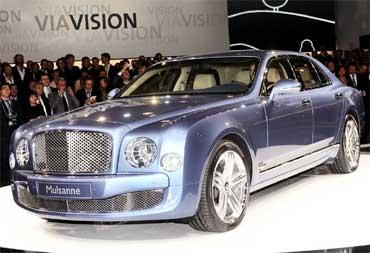 Bentley Mulsanne.