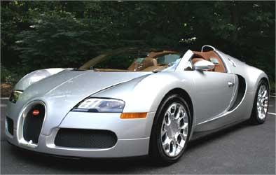 Bugatti Veyron 16.4 Grand Sport.