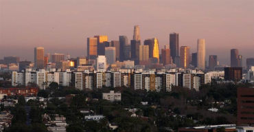 Los Angeles is a large manufacturing centre.