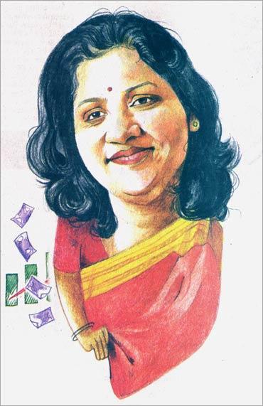 Vishakha Mulye attributes her success to parent ICICI Bank.