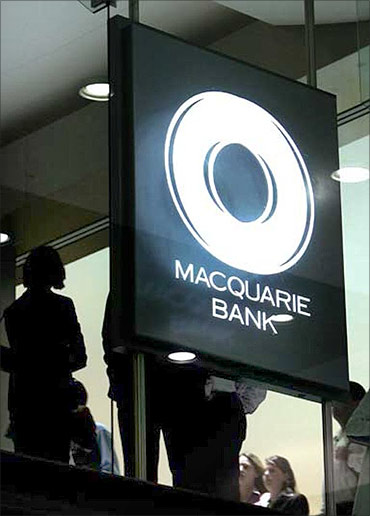 Macquarie Bank.