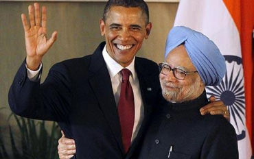 Obama sees many benefits in partnering with India.