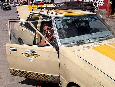 Taxis are not metred in La Paz.