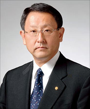 Akio Toyoda.