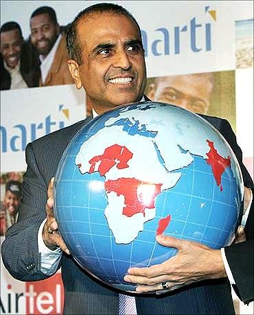 Sunil Bharti Mittal.