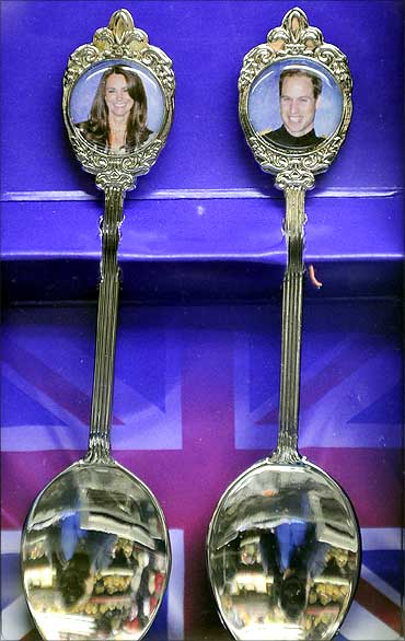 Souvenir silver plated spoons.