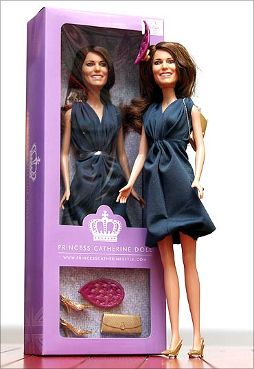 A limited edition Princess Catherine Engagement Doll.