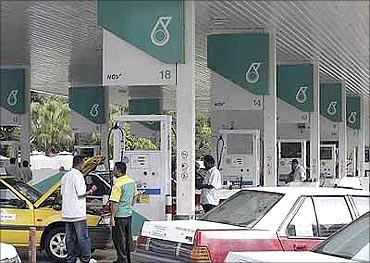 Petronas sold its stake to Vedanta.