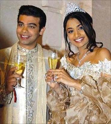 Vanisha Mittal and Amit Bhatia.