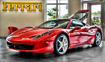 Ferrari 458.