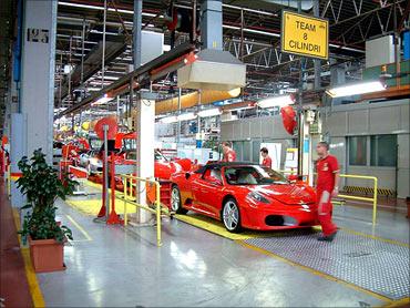 Ferrari factory.