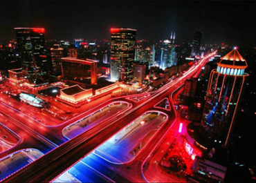 Beijing at night.