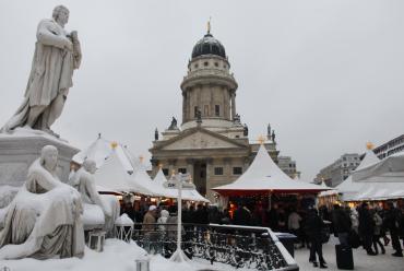 A Berlin market.