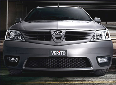 Front grille of Verito.