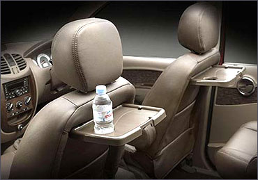 Mahindra Xylo passenger seat.