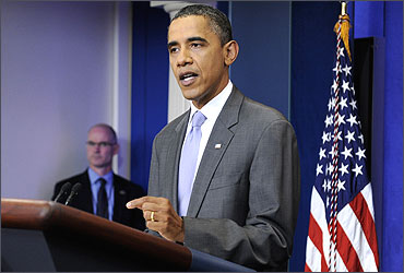 US President Barack Obama talks about the debt ceiling crisis.