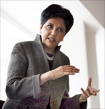 Indra Nooyi, PepsiCo Chairman and CEO.