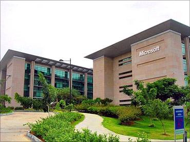 Microsoft India.