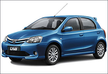 Toyota Etios Liva.