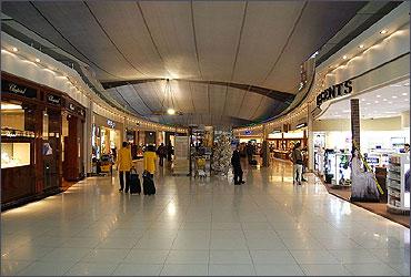 Duty free shop at Suvarnabhumi International Airport in Bangkok, Thailand.