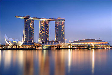 Marina Bay Sands, Singapore.