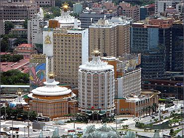 Macao Hotel Lisboa.