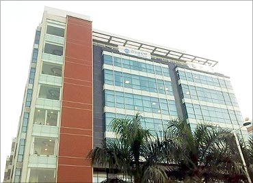 MphasiS  office, Bangalore.