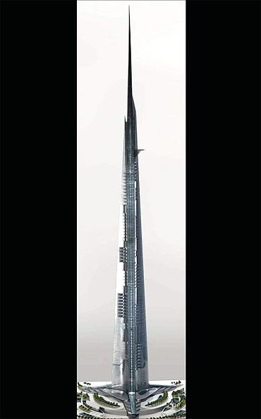 Kingdom Tower complex.