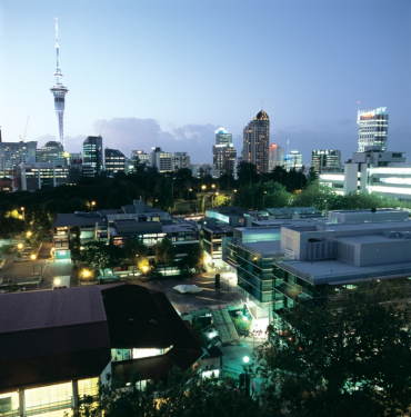 Auckland at dawn.