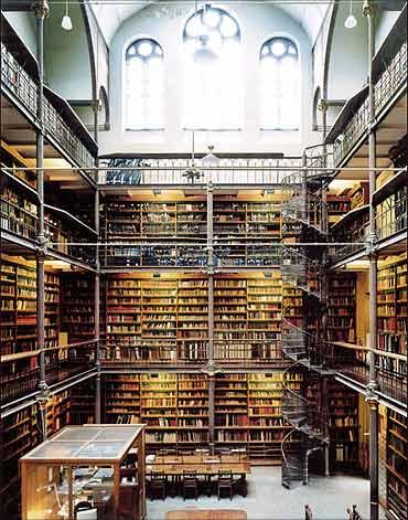 Rijkmuseum Library, Amsterdam.