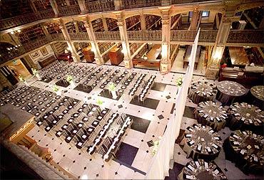 George Peabody Library.