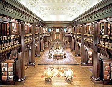 Jay Walker's Private Library.