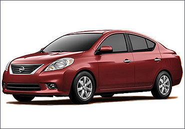 Nissan Sunny The New Car In Town Rediff Com Business