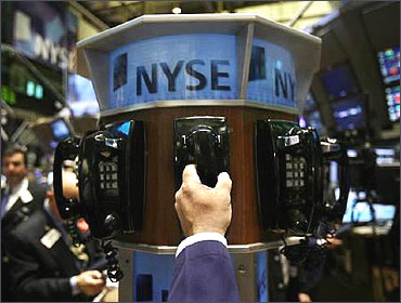 The floor of NYSE.