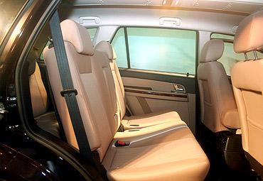 Aria interior view.