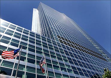 Goldman Sachs building is seen at 200 West Street, New York.