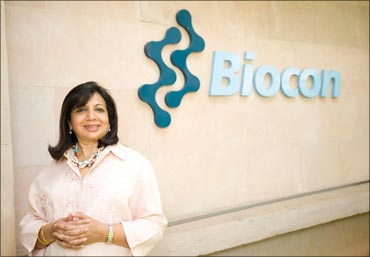 Biocon chief Kiran Mazumdar-Shaw.