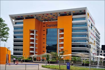 Cognizant has beaten Wipro in terms of revenue.
