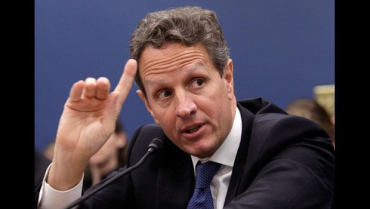 Timothy Geithner says the agency showed terrible judgement.