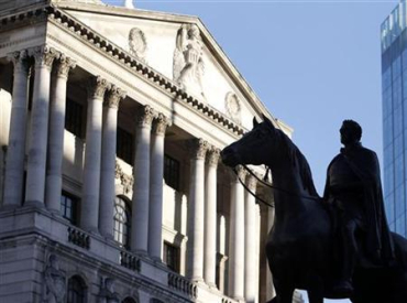 The UK government used Bank of England to borrow money.