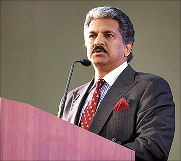 Mahindra vice chairman Anand Mahindra.