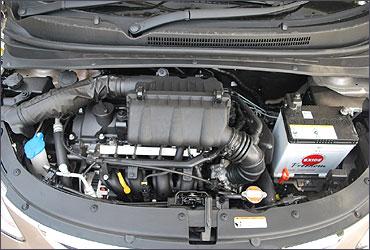 A Santro engine.